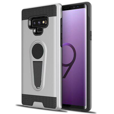 Two-in-one TPU + PC King Armor Car Holder Mobile Phone Case for Samsung Galaxy Note9