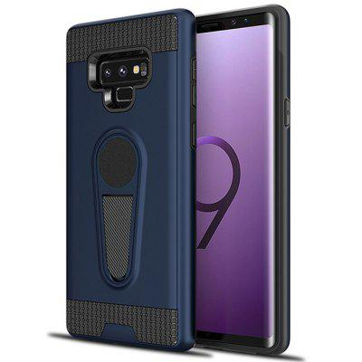 Ultra-thin Two-in-one TPU + PC King Armor Car Holder Mobile Phone Case for Samsung Galaxy Note9