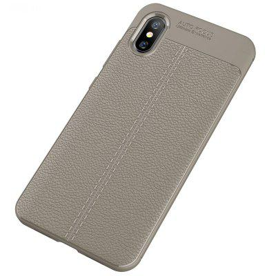 Luanke Anti-fingerprint High-grade Litchi Line Cover for Xiaomi Mi 8 Pro