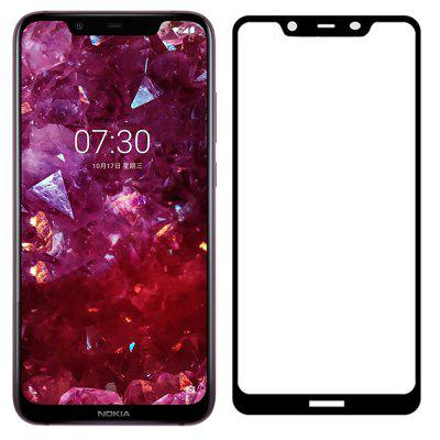Naxtop Full-glue Full-screen Tempered Glass Protective Film for Nokia X7 / 7.1 Plus -2PCS