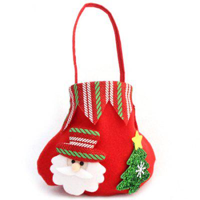 Christmas Gift Bag Decoration Candy Apple Pack