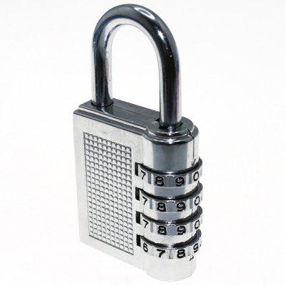 Large Zinc Alloy 4-digit Code Lock Security Anti-theft Padlock Luggage Lock 17B
