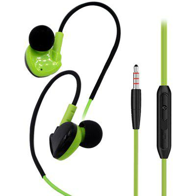 Running Sports Headphones With Wired Headset