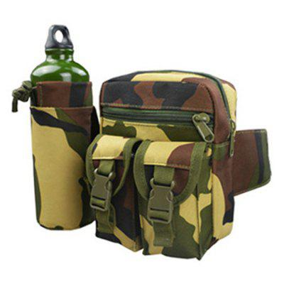 Outdoor Multi-function Camouflage Water Bottle /  Tactical  Pocket Mobile Phone Bag