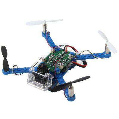 X - 101 DIY Headless Mode One Key Return 360-degree Rolling Speed Switch RC Drone - KIT
