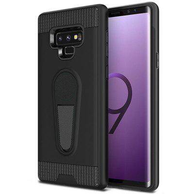 Ultra-thin Two-in-one TPU+PC King Armor Car Holder Phone Case for Samsung Galaxy Note 9
