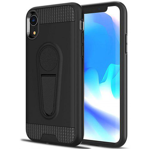 promo code a3f21 a8160 Angibabe Ultra-thin Two-in-one TPU PC King Armor Car Holder Mobile Phone  Case for iPhone XR 6.1 Inch