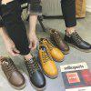 Casual mode Martin Boots - DONKER BRUIN