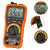 PEAKMETER MS8229 5-in-1 Digital Multimeter Illuminance Meter Sound Level Frequency Frequency Humidity Tester - DARK ORANGE