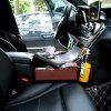 Car Seat Crevice Storage Bag Seat Gap Coin Box Pocket Cup Holder - BLACK