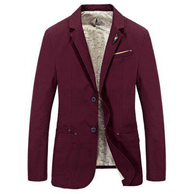 Men Casual Large Size Fashion Suit Jacket