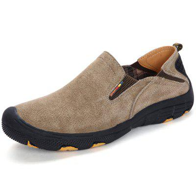 Men Comfortable Casual Flat Shoes Slip-on
