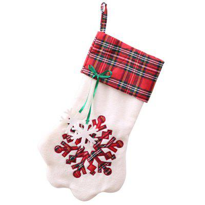 Christmas Socks Gift Bag Christmas Decoration Candy Bag