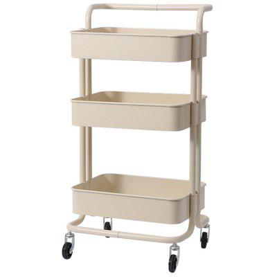 3-Layer Storage Rack with Wheels