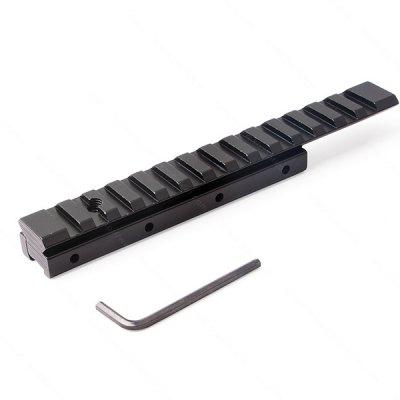 SBEDAR D0026B Track 11mm to 20mm Converter Narrow Widened Low Base Post Extension Extended Rail