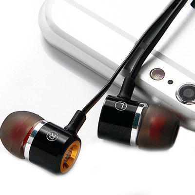 EB001 Metal Headphone HIFI Bass In-ear Tuning Earplug Flat Line Universal Mobile Phone Headset