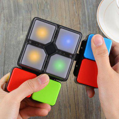 Illuminated Electric Game Magnetic Cube