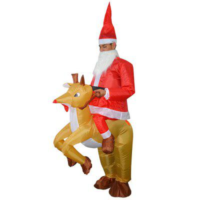 Halloween Christmas Elk Cosplay Inflatable Suit Costume Props
