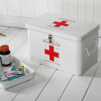 Household Multi-layer Medicine Storage Box Lock First Aid Kit