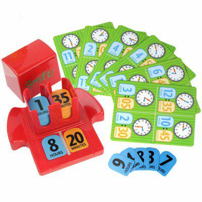 Interactive Time Learning Game Educational Toy