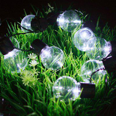 Solar Light String Outdoor 10 LED Bulb Waterproof Christmas Garden Landscape Decorative Lantern Lamp