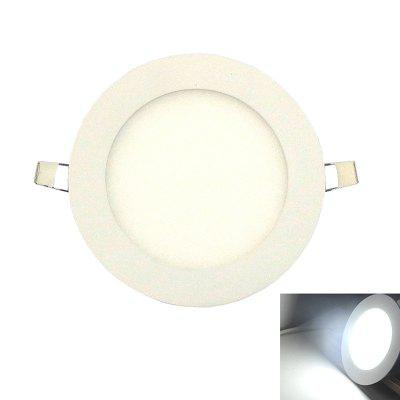 Luz ultrafina del panel de 9W 6500K LED / luces de techo ahuecadas