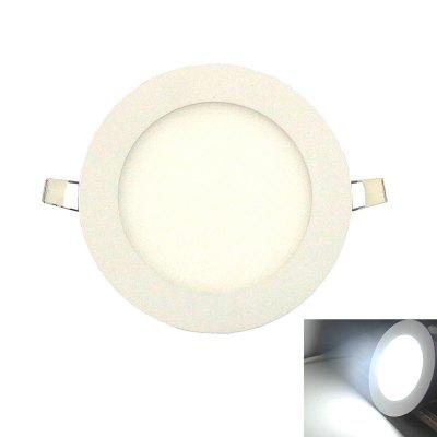 Ultra-thin 6W 6500K LED Panel Light / Recessed Ceiling Lights
