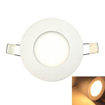 Ultra-thin 4W 3000K LED Panel Light / Recessed Ceiling Lights