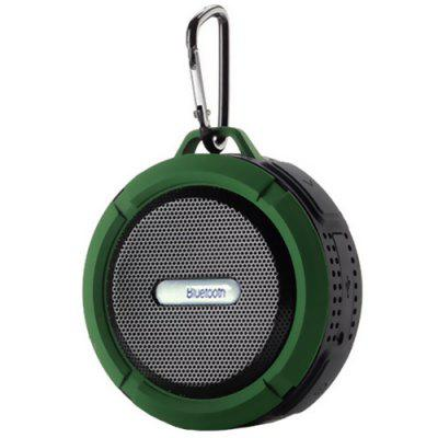 C6 Waterproof Speaker Big Suction Cup Dustproof Bluetooth Audio Outdoor Sports Mini Portable TF Subwoofer SoundBox