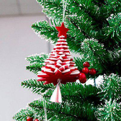 Christmas Decoration Creative Flannel Bell Hanging Ornament