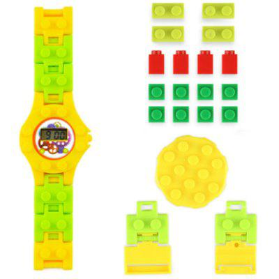 DIY Electronic Building Blocks Watch Education Toy