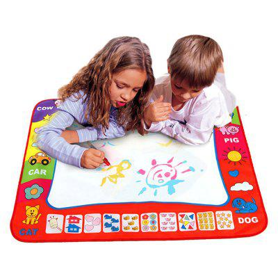 Magic Water Drawing Mat Großes Doodle Board mit 2 Stiften
