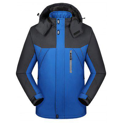 1818 - A421 Three-in-one Two-piece Spring And Autumn Waterproof Jacket Outdoor Thickening Mountaineering Suit