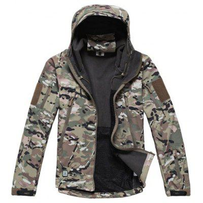 Military Outdoor Soft Shell Jacket for Man