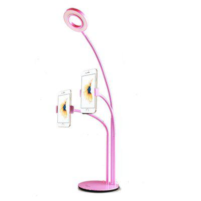 Adjustable Eye Protection LED Gooseneck Lamp with Mobile Phone Holder