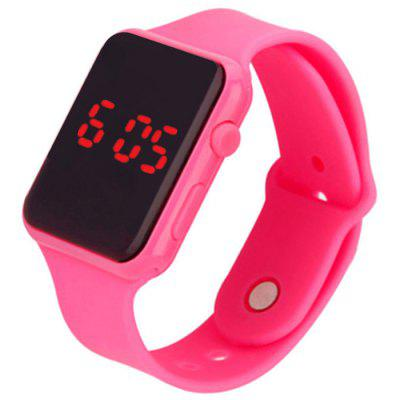 V5 Brand Unisex Rubber LED Bracelet Digital Wrist Watch
