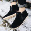SYXZ 0129 2018 Men Shoes Warm Boots High Shoes - GRAY