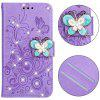 Butterfly Design Phone Case for Samsung Galaxy S8 Plus - PURPLE