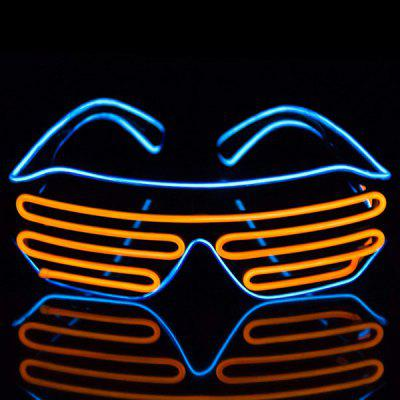 Two-color Voice-activated Illuminating Glasses