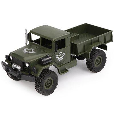 JJRC Q62 1/16 2.4G 4WD Off-Road Militaire Truck Crawler RC Car