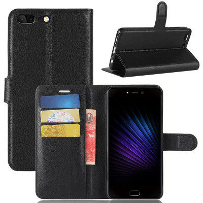Naxtop Lychee Mobile Wallet Flip Cover Body Protection Etui na telefon do Leagoo T5