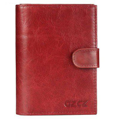 Ladies Leather Multi-function Card Fashion Zipper Buckle Wallet
