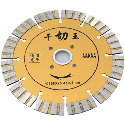 Dry Cut King Saw Blade Fast Dry Cutting Cutting Piece Diamond Saw Blade Durable Wear-resistant 160MM