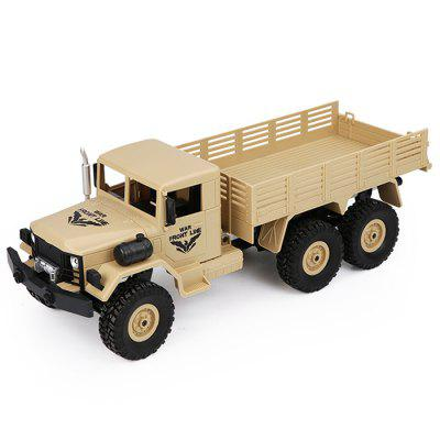 JJRC Q63 1/16 2.4G 6WD Off-Road Militaire Truck Crawler RC Car