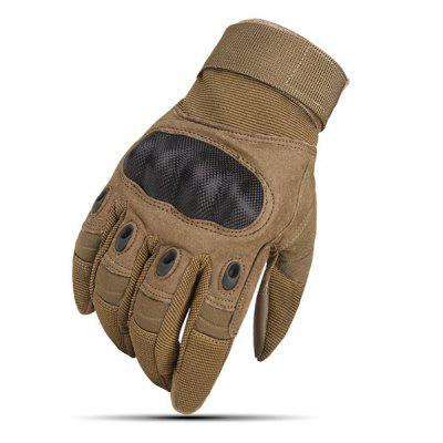 Outdoor Sports Touch Screen Non-slip Wear Resistant Full Finger Gloves