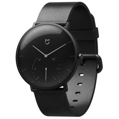 Xiaomi Youpin Double Dial Automatic Calibration Free Charging Step Smart Waterproof Quartz Watch