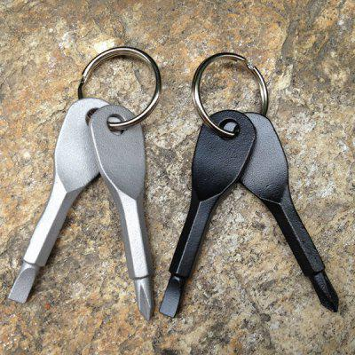 Outdoor EDC Portable Multifunctionele tool Phillips-schroevendraaier