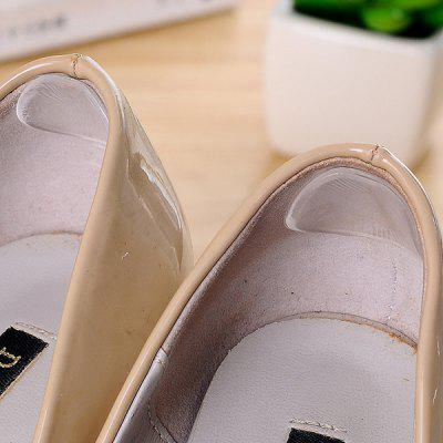Silicone Heel Post Heels Heel Sticks Anti-wear Feet Transparent Non-foot Silicone Small Round Stickers 6pcs
