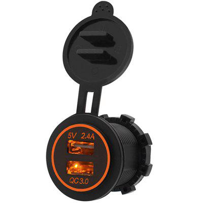 Motorcycle RV QC Car Phone Charger