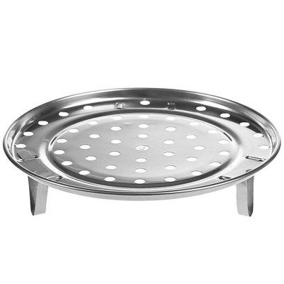Multifunctional Stainless Steel Steamer Kitchen Three-foot Steamed Buns Steamed Buns Steamed Dish Shelf Water Steamer Steamed Tablets